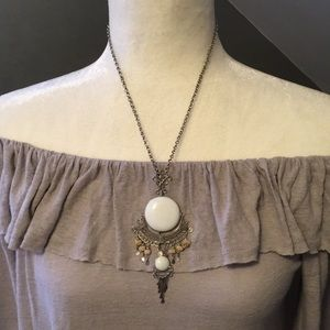 Jewelry - Handcrafted Stone statement necklace